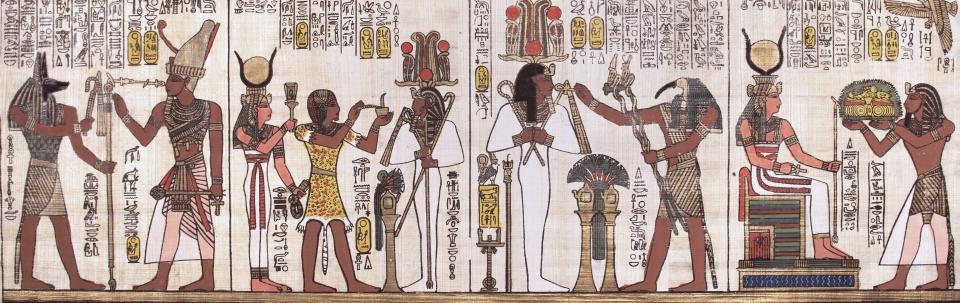 starożytni egipcjanie stosowali pszenicę do wywoływania halucynacji, a także do uśmierzania bólu